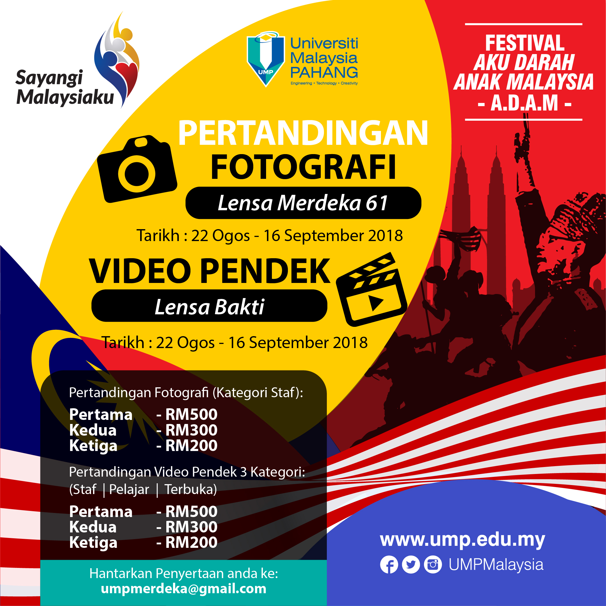 PERTANDINGAN FOTO DAN VIDEO PENDEK